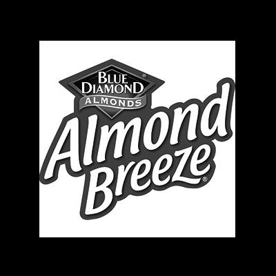 Logo Almond Breeze voor case