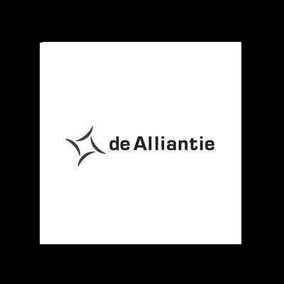Logo De Alliantie voor case
