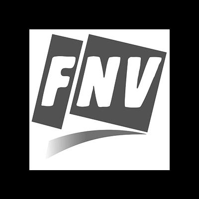 Logo FNV voor case