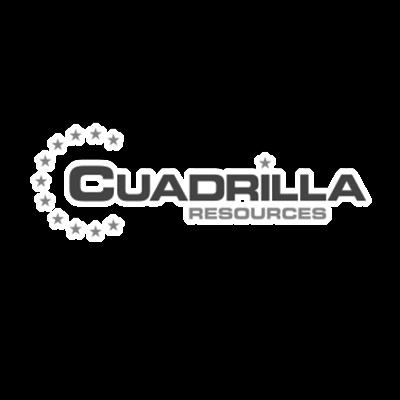 Logo Cuadrilla bij case
